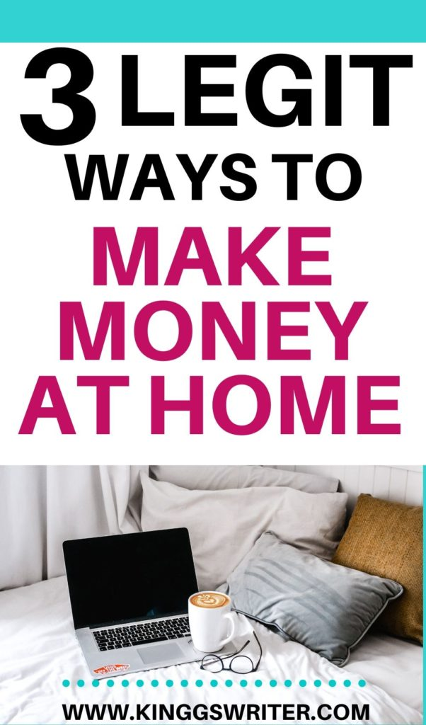 Legit ways to make money at home which are scam free. Try these side hustles to work from home