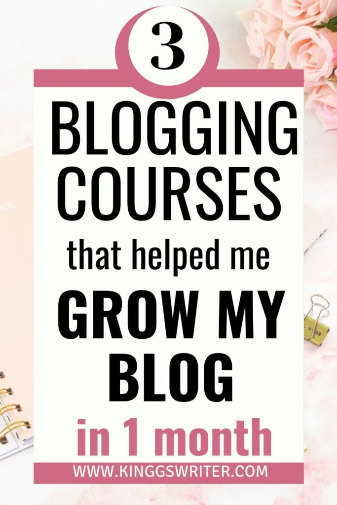 best blogging courses: check list of affordable blogging courses for beginners