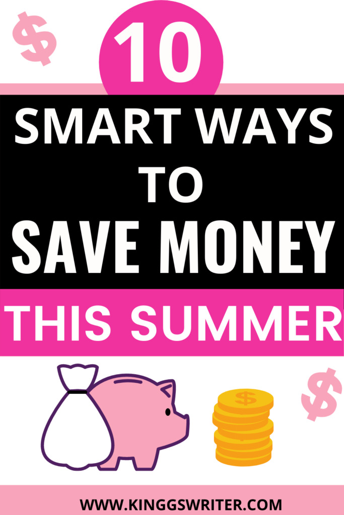 Summer saving tips that will help you save more money