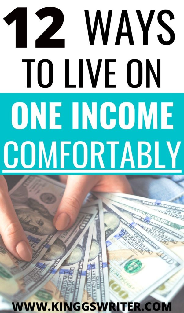 Living on One Income ,How to live on one income: 12 tips to live on one income without being poor