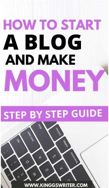 How to start a blog and make money from it. This beginners guide is for you. Click  to know how to start your own wordpress blog to make money in 2020 #startablog #bloggingforbeginners #howtostartablog #bloggingtips